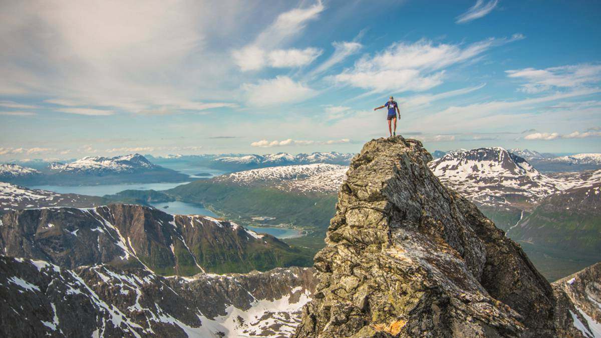 Tromso : Mountain running is taking off