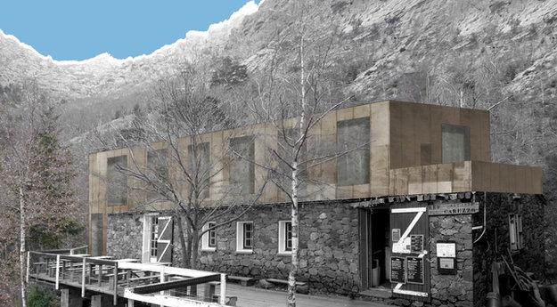 Projet rénovation refuge Carozzu - Orma architettura