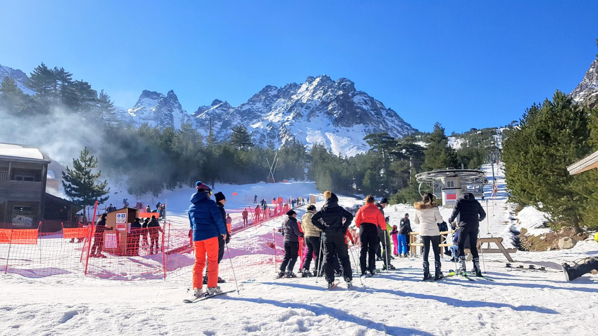 Haut Asco, station de ski