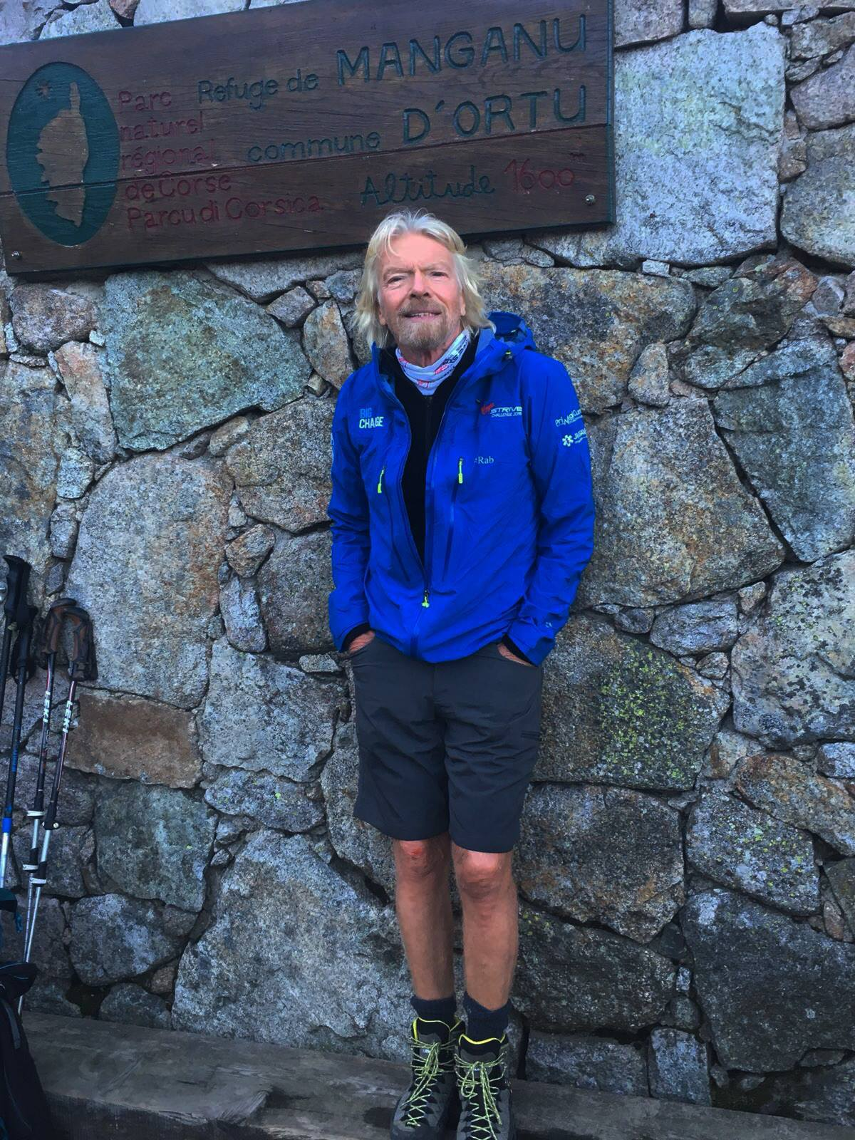 Richard Branson on GR20 North