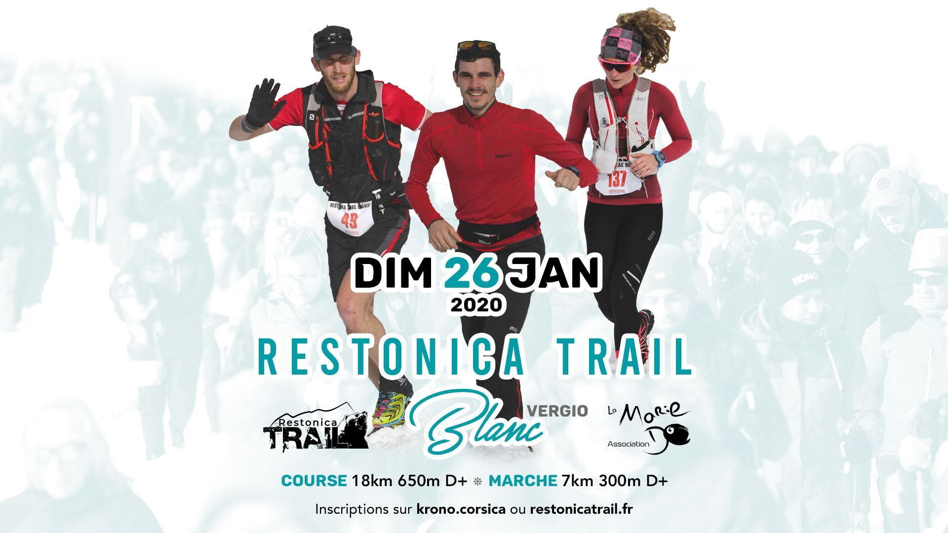 The Eleventh Edition of the  'Trail Blanc'  A great start to the year for trail runners