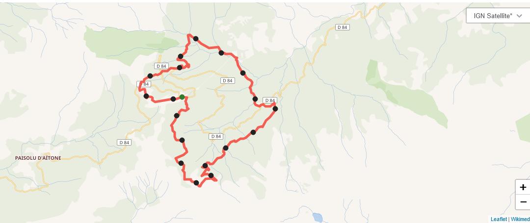Carte parcours trail blanc 2020 2