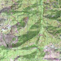 Carte de l'étape 11 du GR20