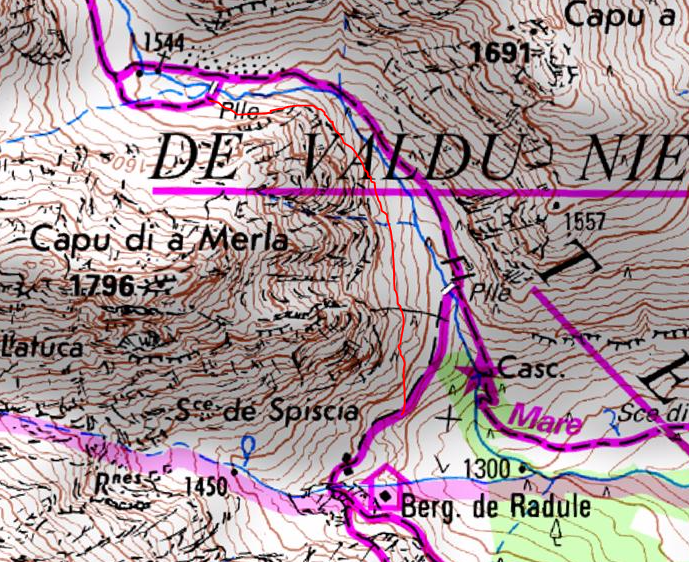 Carte du contournement
