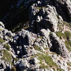 Vue sur le col Bocca di Stagnu