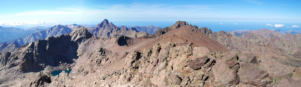 Carte Corse Monte Cinto.Le Monte Cinto Point Culminant De La Corse